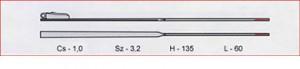 Szár BW 1mm /3,2mm széles/