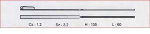 Szár BW 9102 /3,2mm széles/